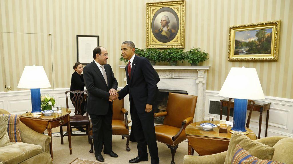 Obama y Al Maliki