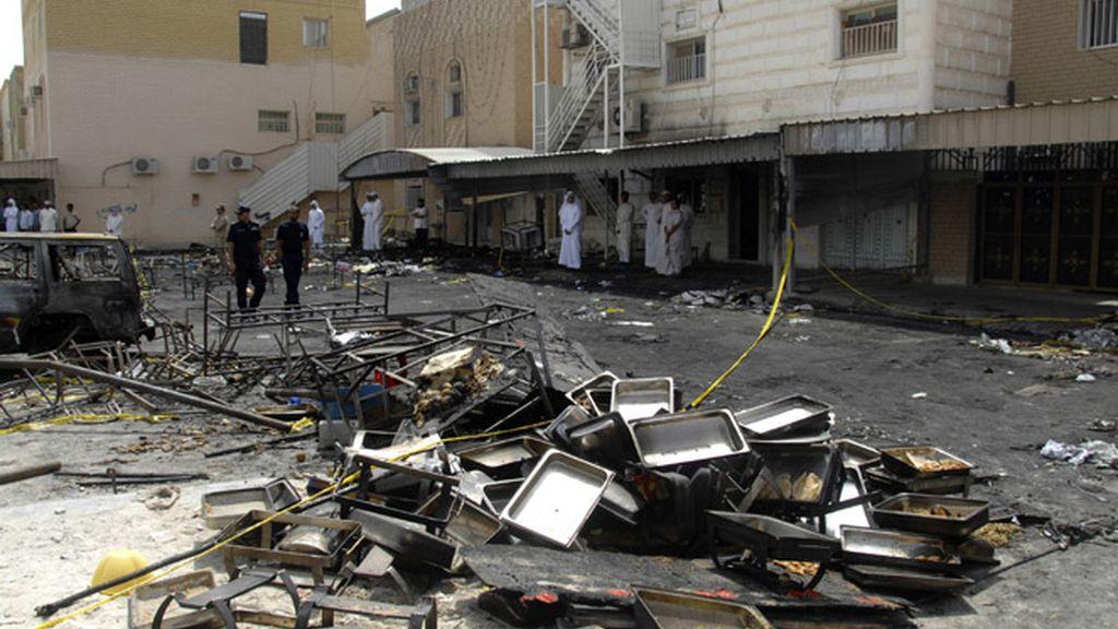 Incendio en una boda en Kuwait