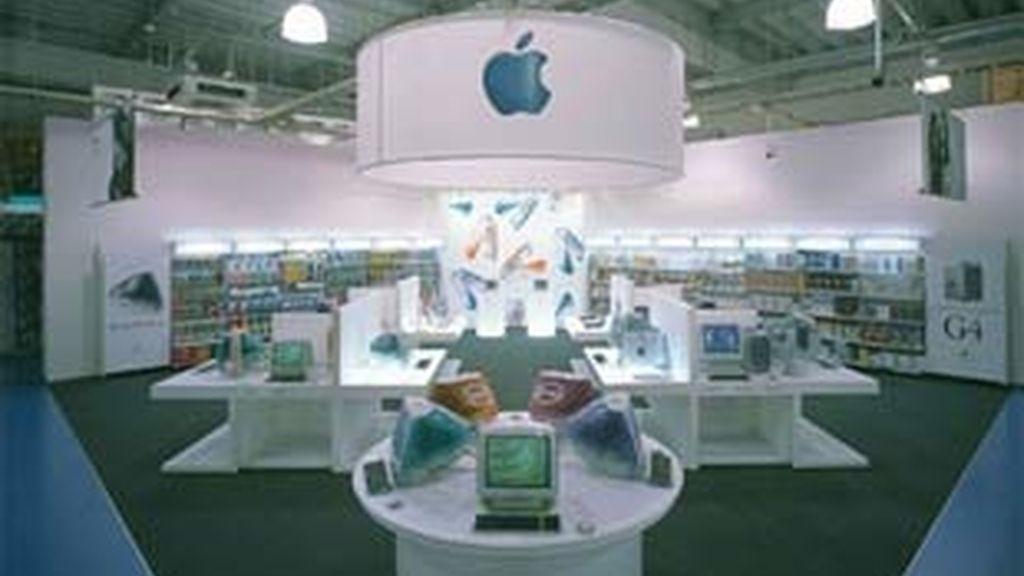 Una de las tiendas del grupo tecnológico Apple.