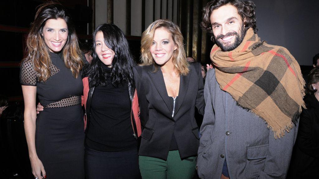 Elia Galera, Melania Pan, Bárbara Muñoz e Iván Sánchez