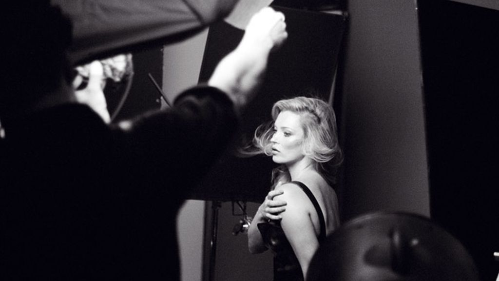 Kate Moss Making Of