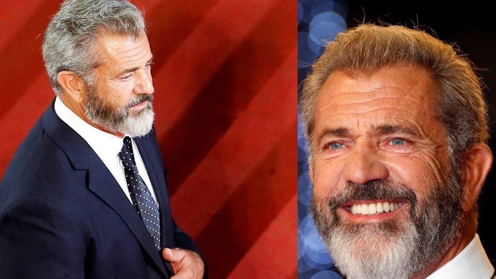 Mel Gibson con barba