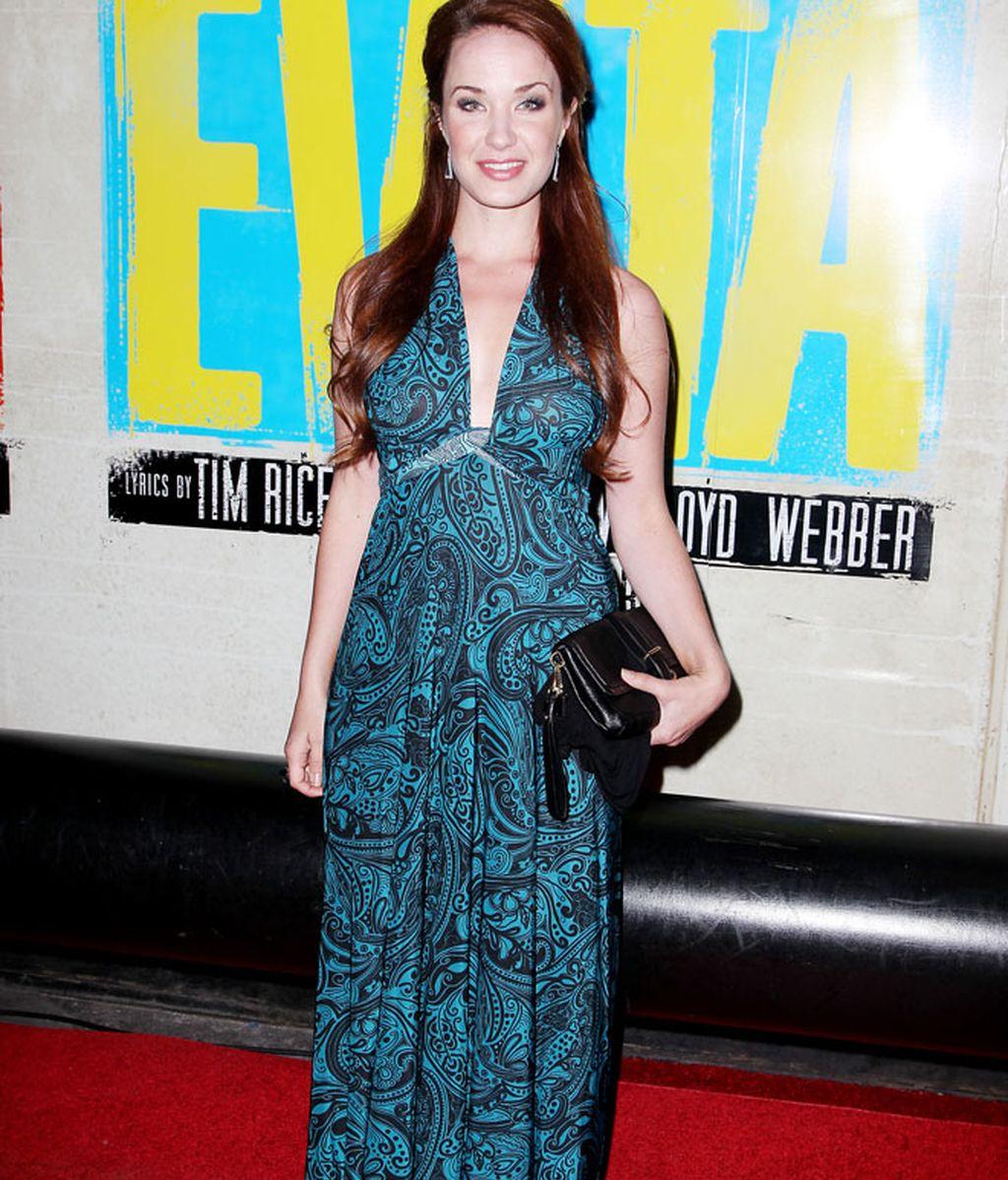 Sobredosis de flúor en el estreno de 'Evita'
