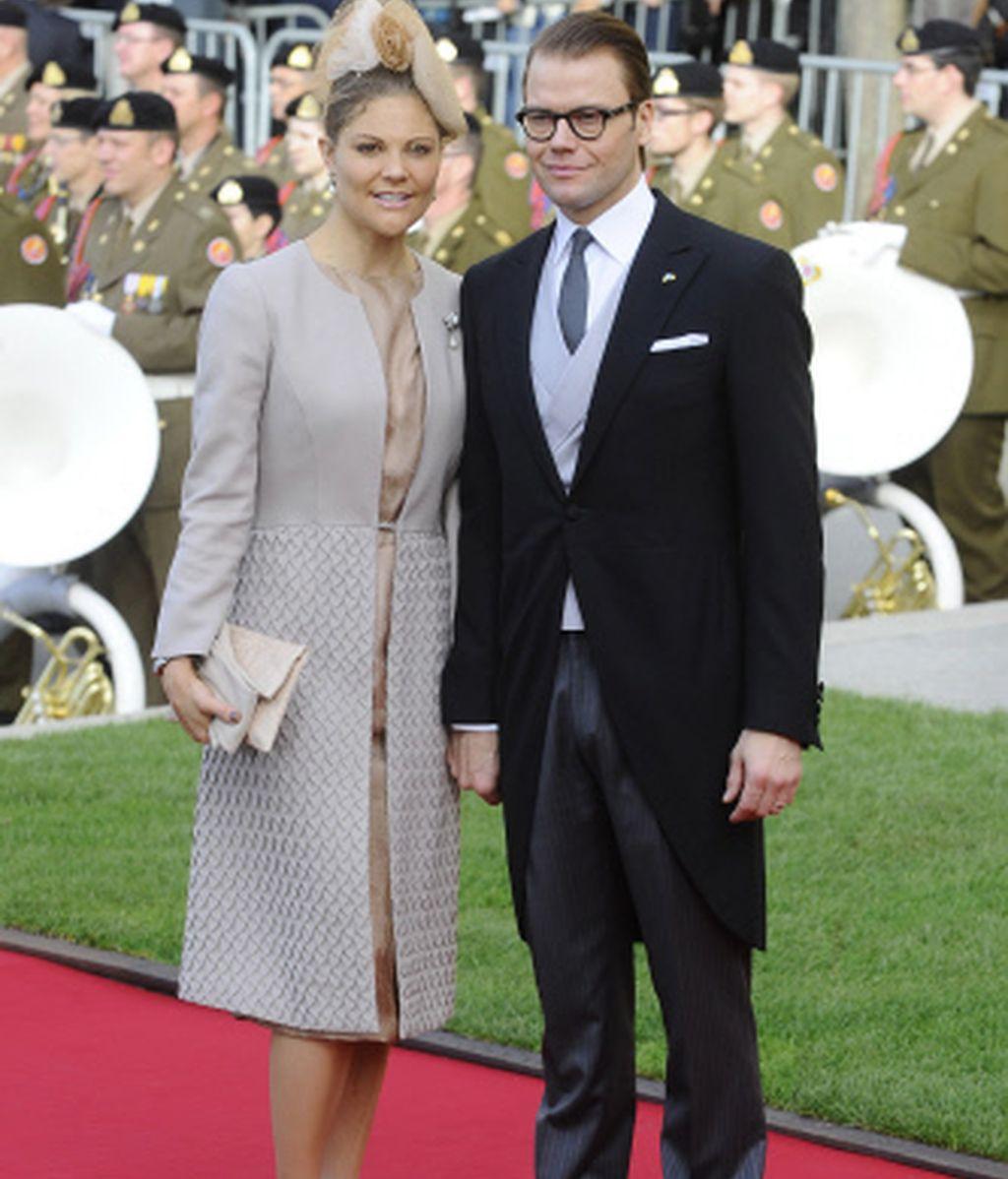 Victoria de Suecia y su marido