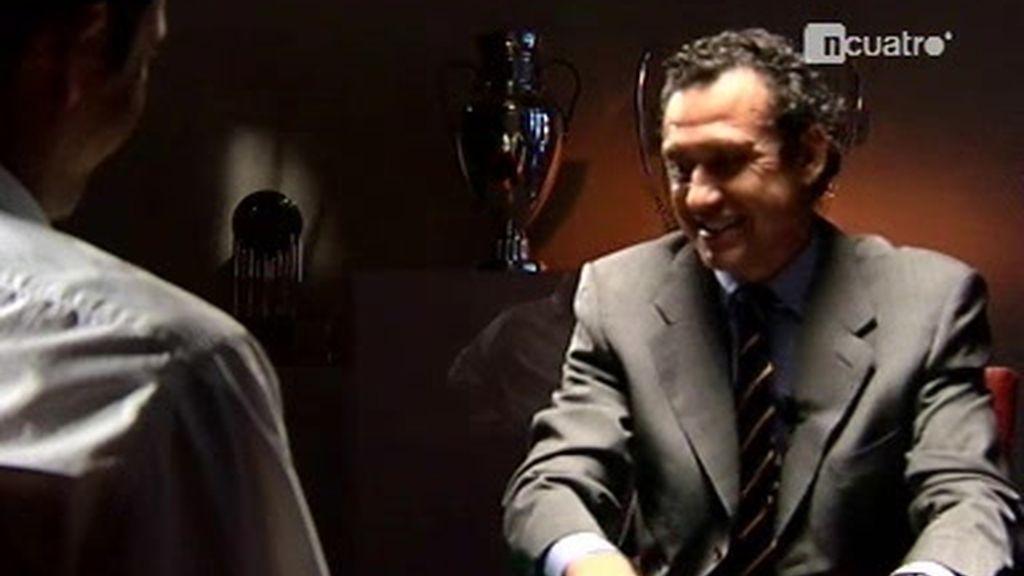 Jorge Valdano responde la segunda tanda de Manu Carreño
