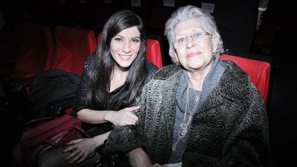 Pilar Bardem y Cecilia Gessa, novia de su hijo Carlos