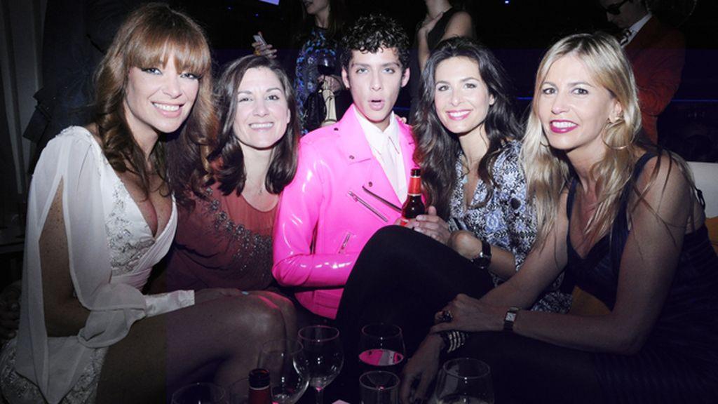 Lucía Hoyos, Ana Rayo, Eduardo Casanova, Nuria Roca y Patricia Cerezo