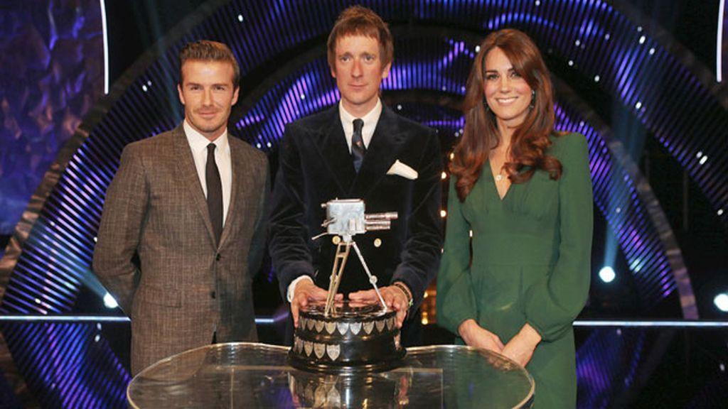 Kate Middleton, Bradley Wiggins y David Beckham
