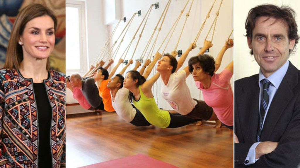 reina letizia yoga