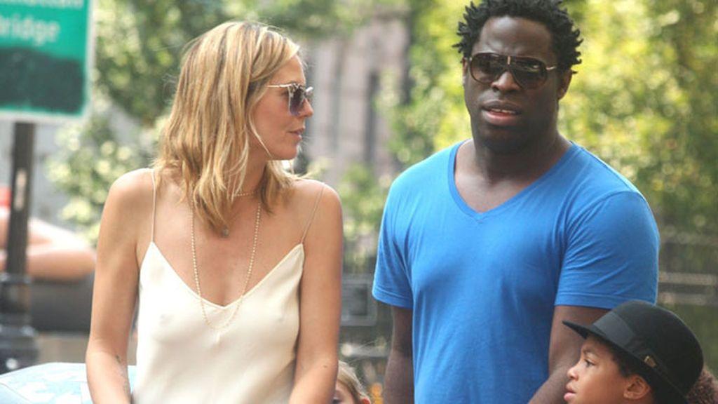 Heidi Klum y su ex cuñado de paseo por Nueva York