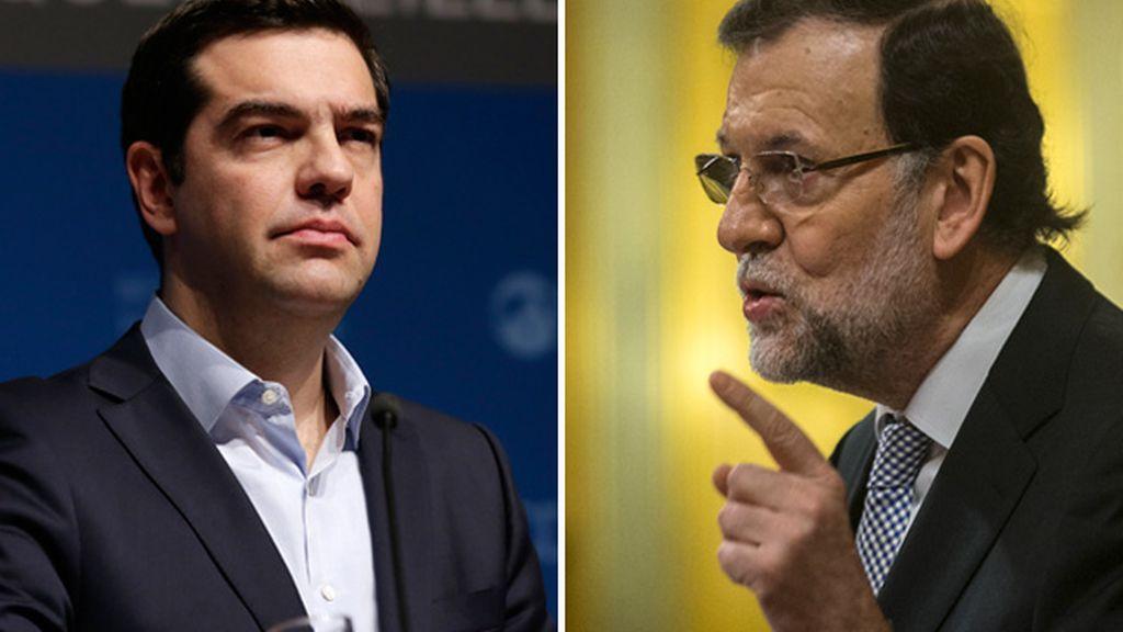 Alexis Tsipras y Marinao Rajoy