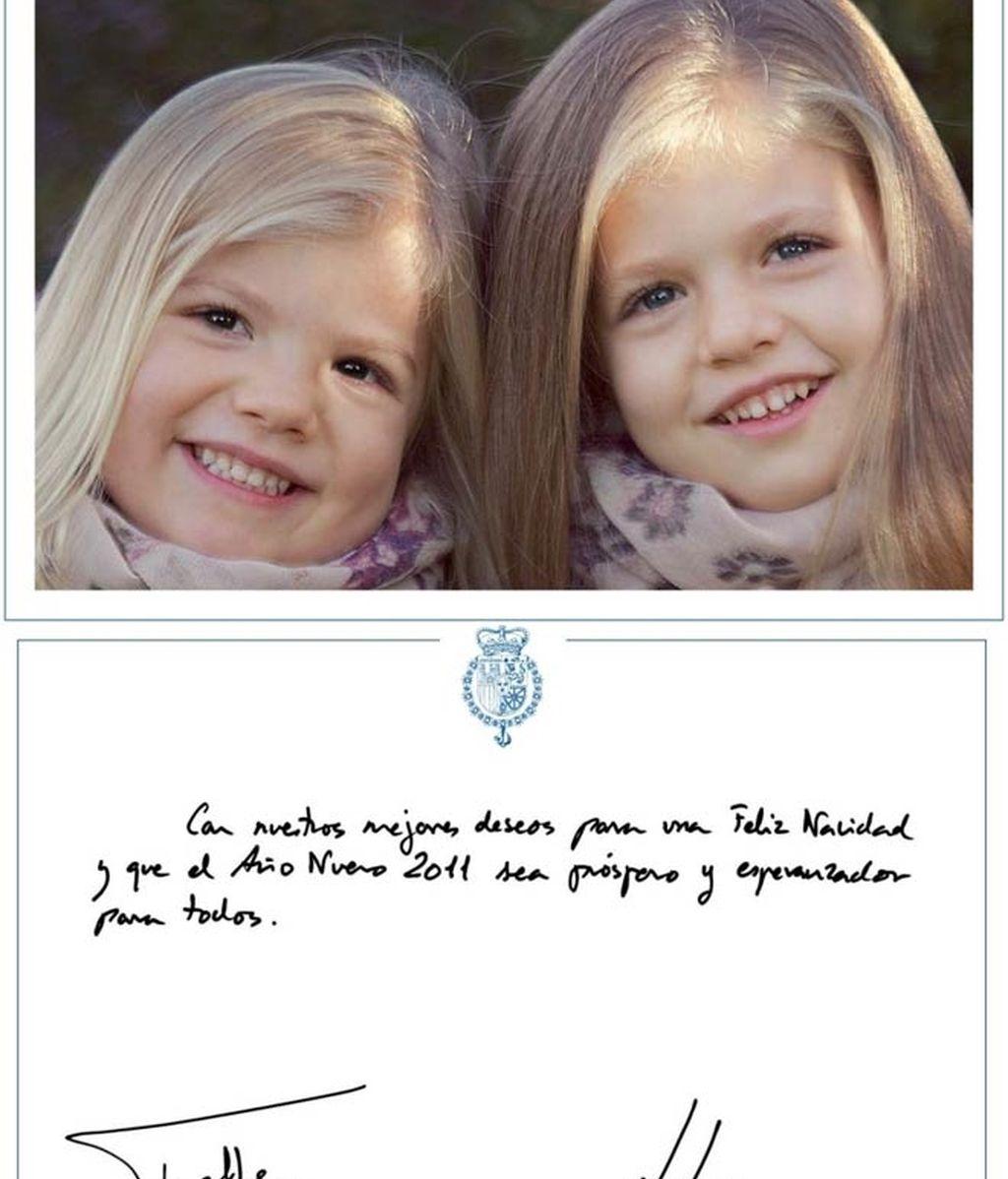 La Familia Real os desea... ¡Feliz Navidad!