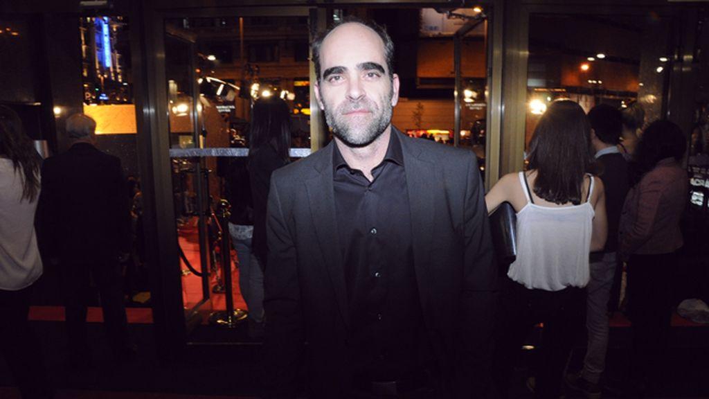 El actor Luis Tosar no quiso perderse la película de sus grandes amigos Javier y Carlos Bardem
