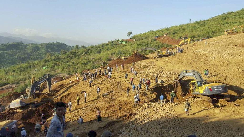 Sepultados en Myanmar