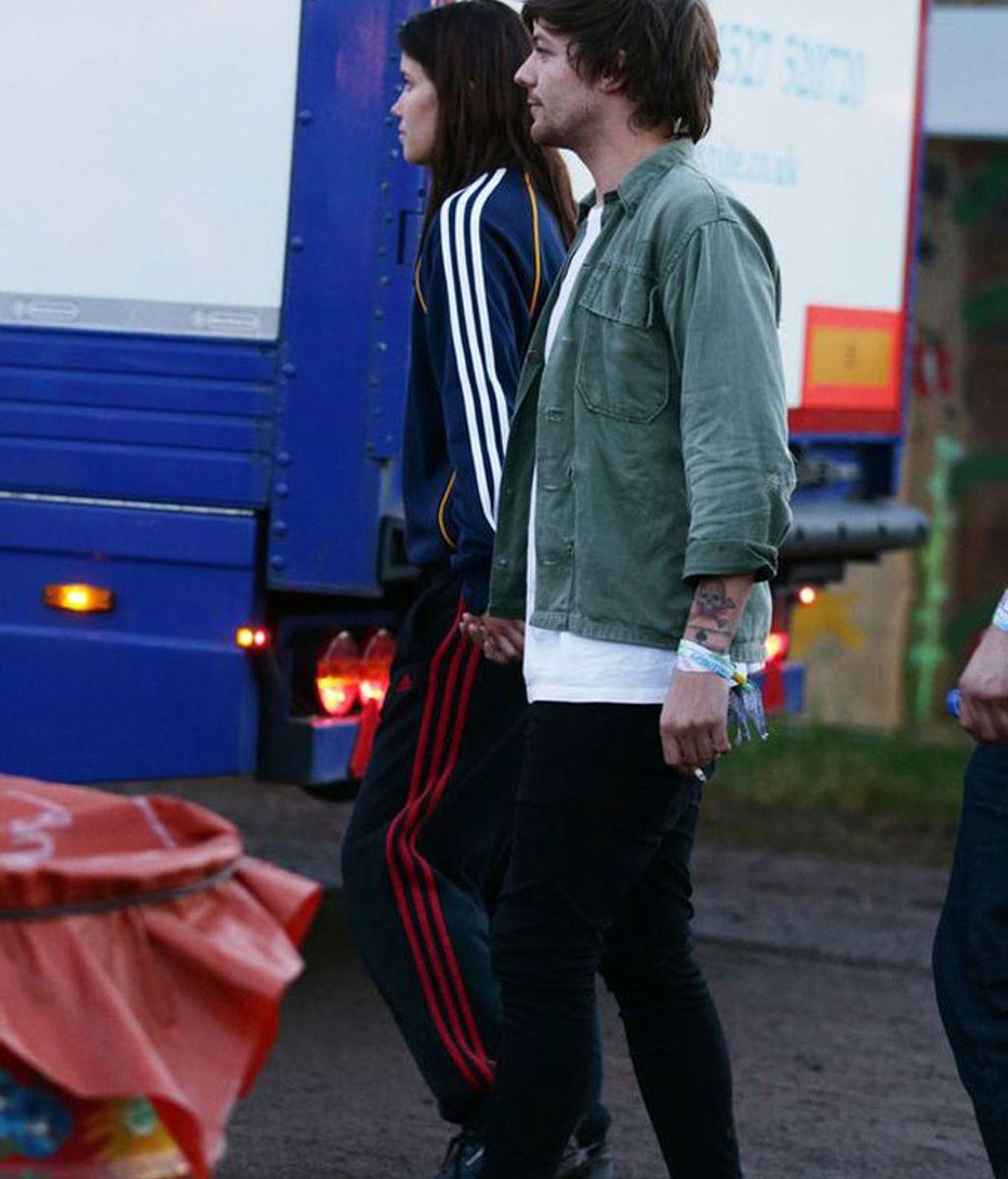 Al cantante de 'One Direction' y a la modelo se les vio de la mano
