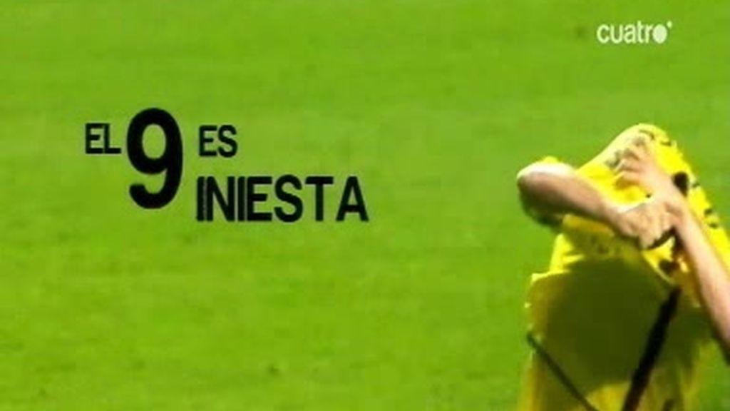 Iniesta: el Barça tiene otro 9
