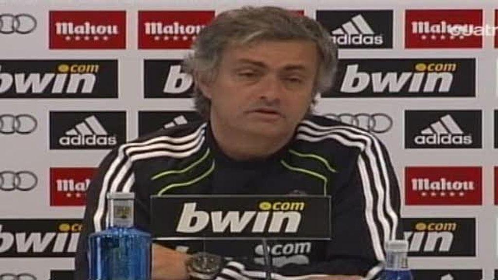 Mourinho habla de su contrato con el Real Madrid