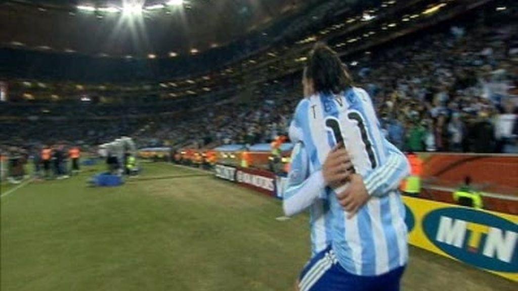 Octavos: Argentina 3 - 1 México