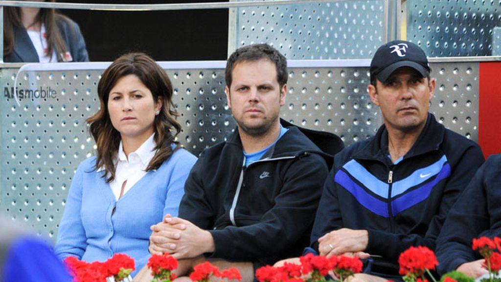 Xabi Alonso lleva a su hijo al tenis y Cristiano va sin Irina