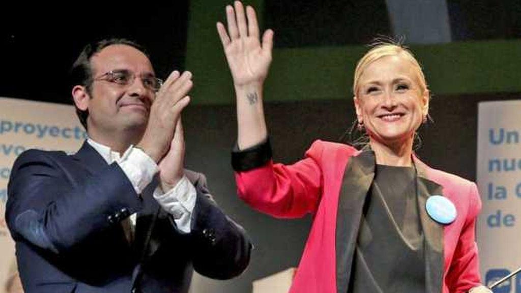 Daniel Ortiz y Cristina Cifuentes