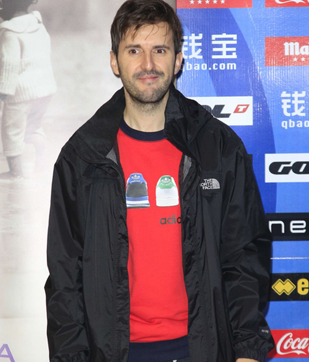 Raúl Arévalo, amante pasajero