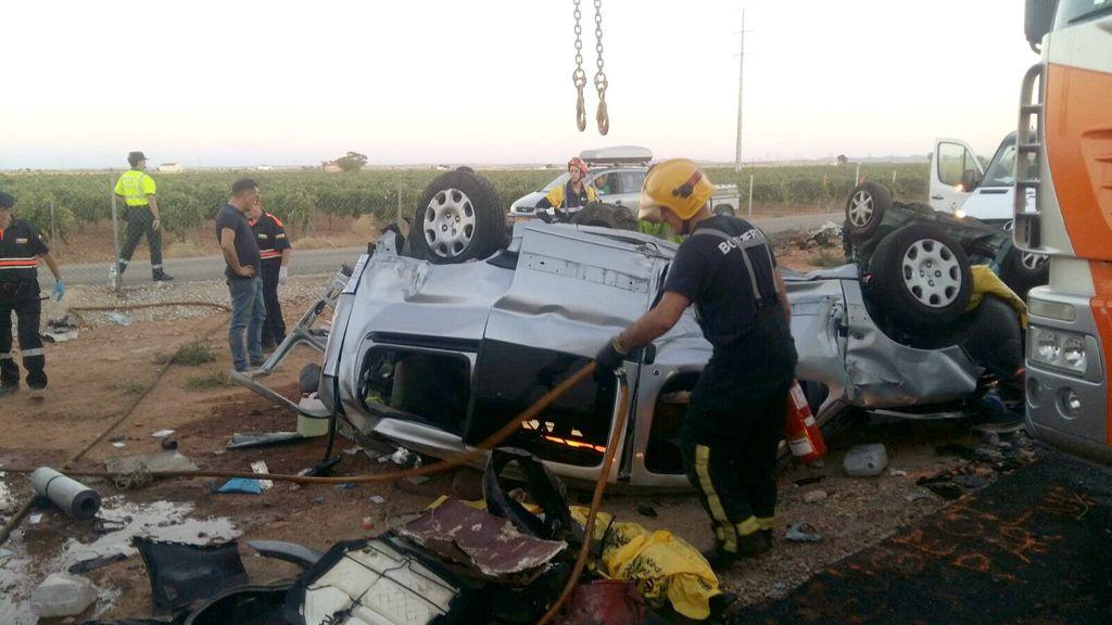 Dos fallecidos y 32 heridos, balance final del accidente múltiple en Ciudad Real