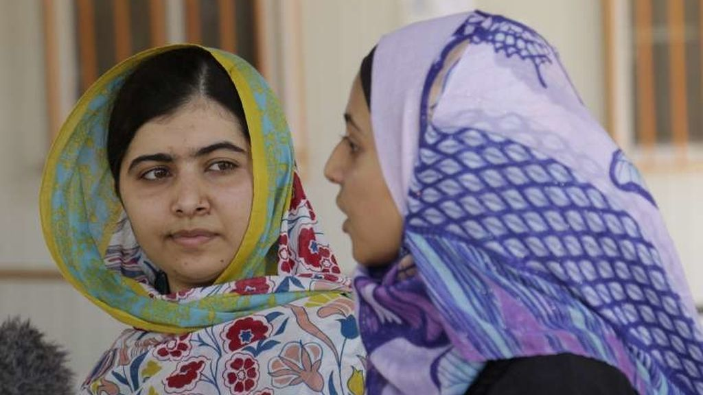 Malala y Muzon en Jordania