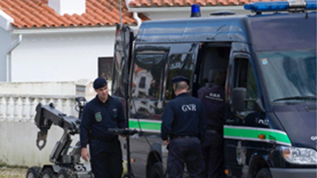 Los etarras guardaban 500 kilos de explosivos en la casa de Portugal