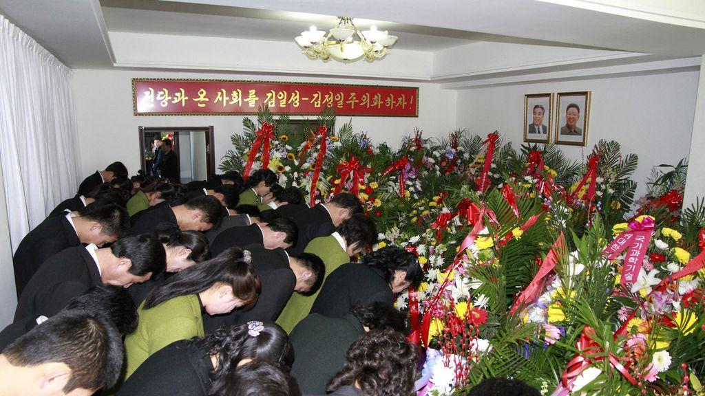 Corea del Norte celebra el segundo aniversario de la muerte de Kim Jong Il