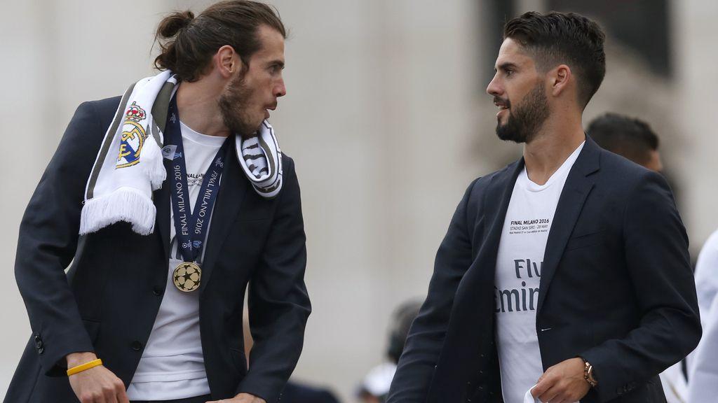 """Gareth Bale y Francisco Alarcón """"Isco"""""""