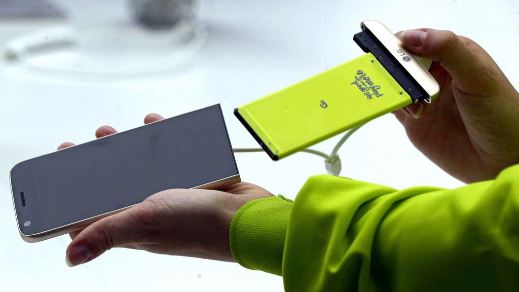 LG presenta su nuevo buque insignia: LG G5, que se puede mejorar mediante módulos