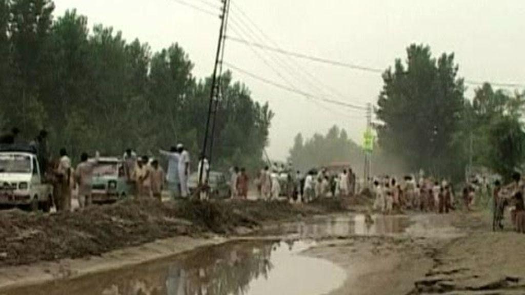 Casi 13 millones de afectados por las inundaciones en Pakistán