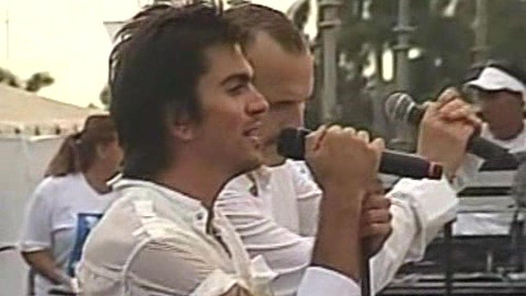 Juanes y Miguel Bosé. ?Nada particular?