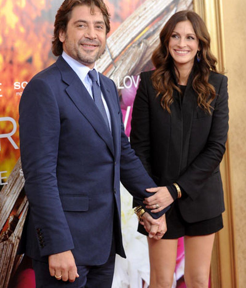 La complicidad de Javier Bardem y Julia Roberts