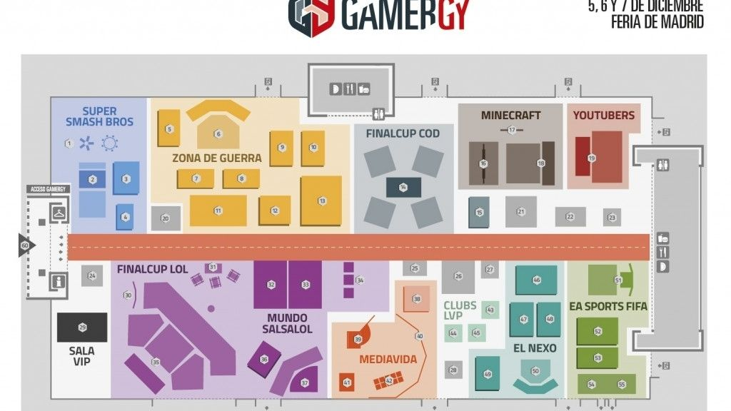 mapa, LVP, Gamergy2