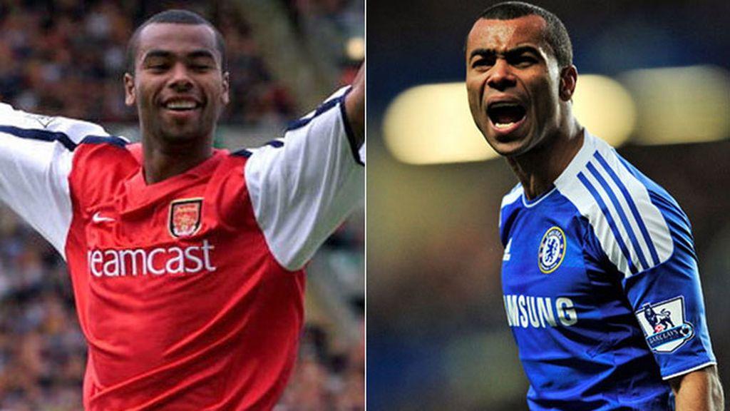 Ashley Cole, de la cantera del Arsenal... al Chelsea