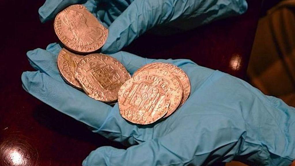 Monedas del tesoro del Odyssey