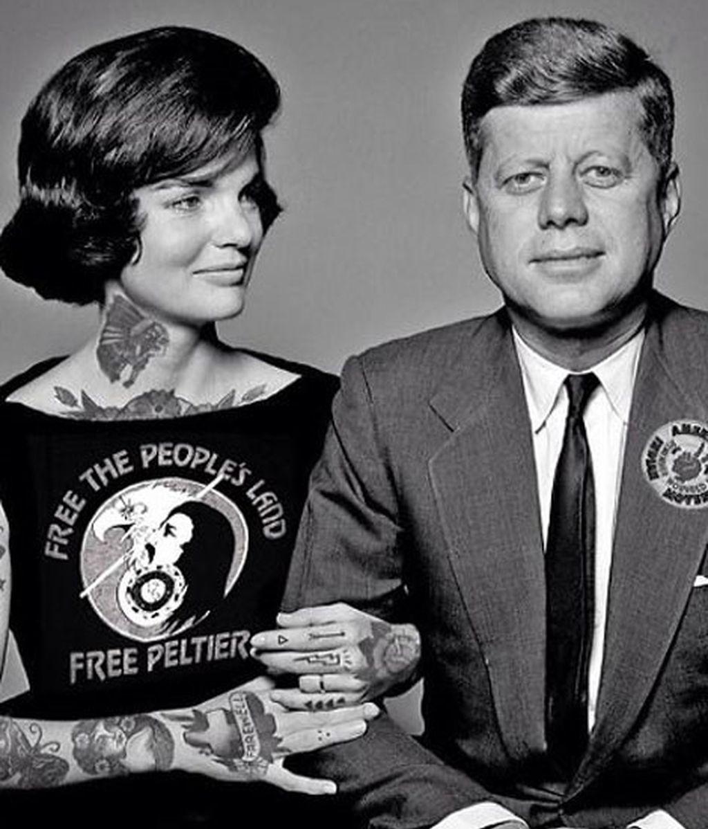 John Fitzgerald y Jacqueline Kennedy