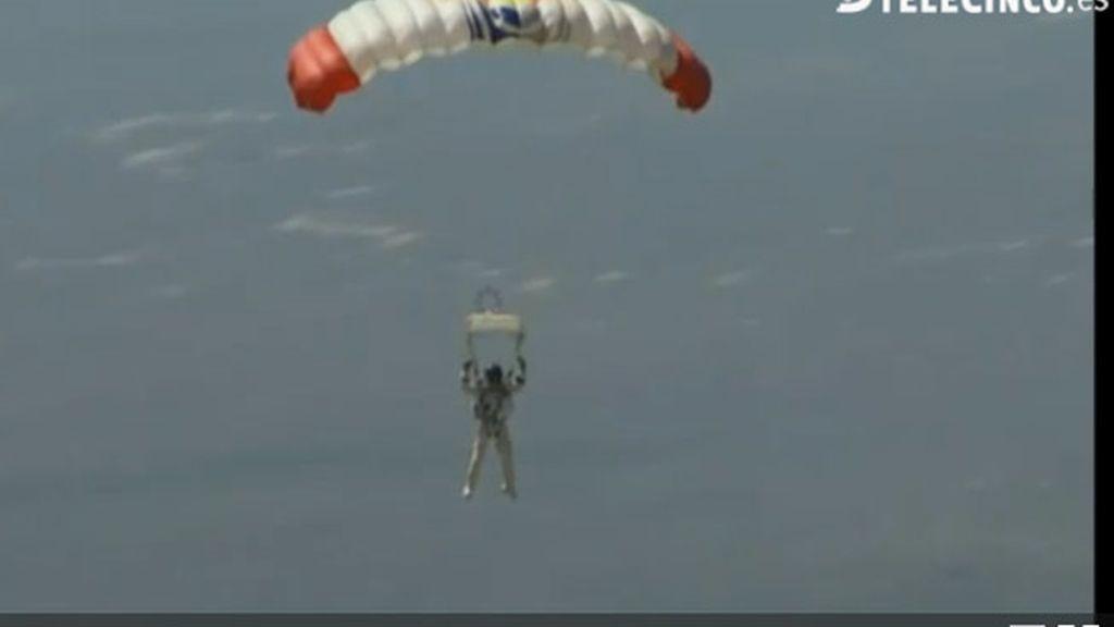 Salto desde la estratosfe.