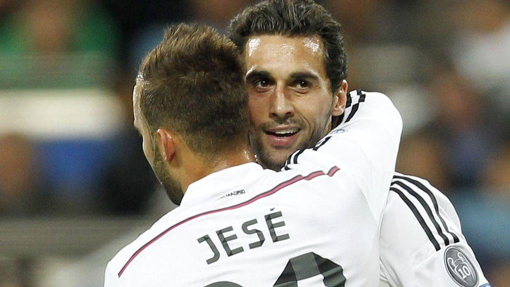 Jesé volvió a disfrutar de algunos minutos en la Champions