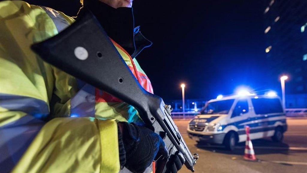 Control fronterizo entre Francia y Alemania