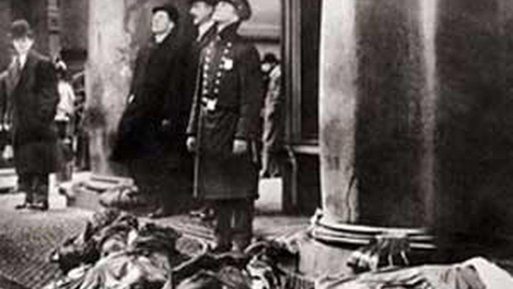 Un incendio en 1911 en la fábrica Triangle acabó con la vida de 146 mujeres. Foto: Archivo.