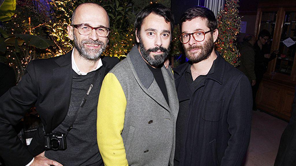 Carlos Puig Padilla, Juanjo Oliva y Jeff Bargues