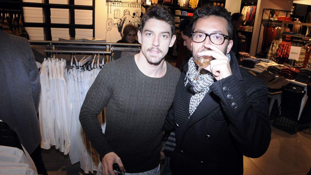 Adrián Lastra y Rafa Pontes