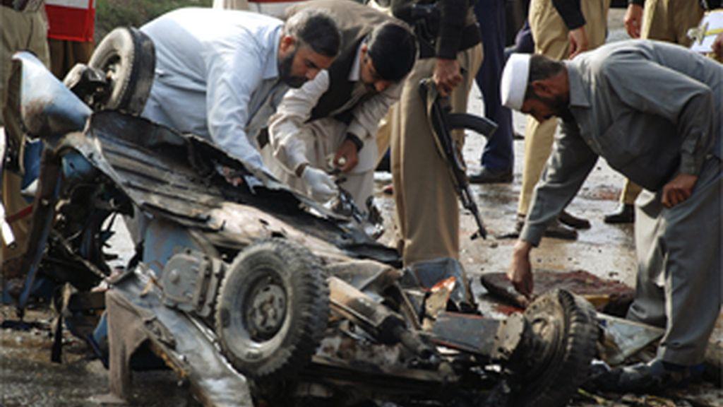 Un atentado deja tres muertos en Peshawar