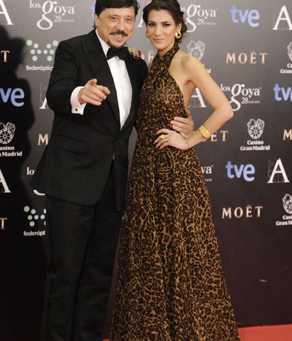 Carlos Bardem de Gucci y Cecilia Gessa