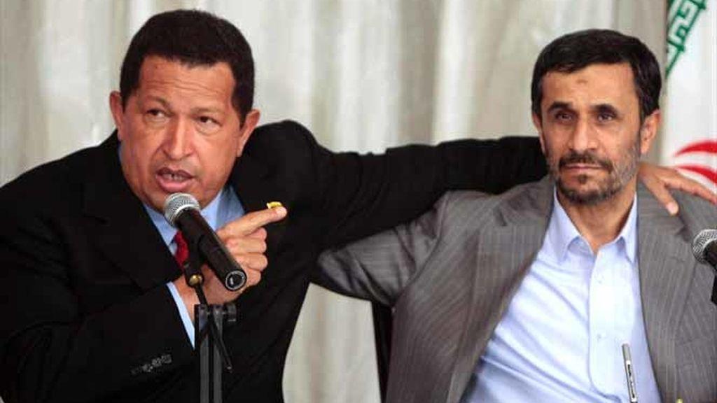 Reunión entre Ahmadineyad y Chávez