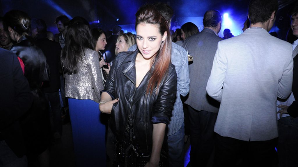 "Cristina Brondó también cumplió con el ""dresscode"" rockero"