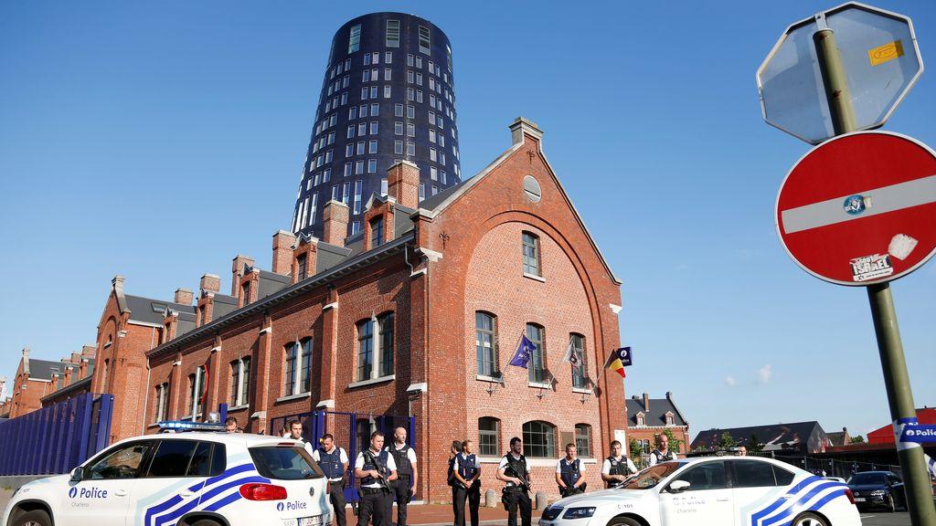 Ataque Charleroi, Bélgica