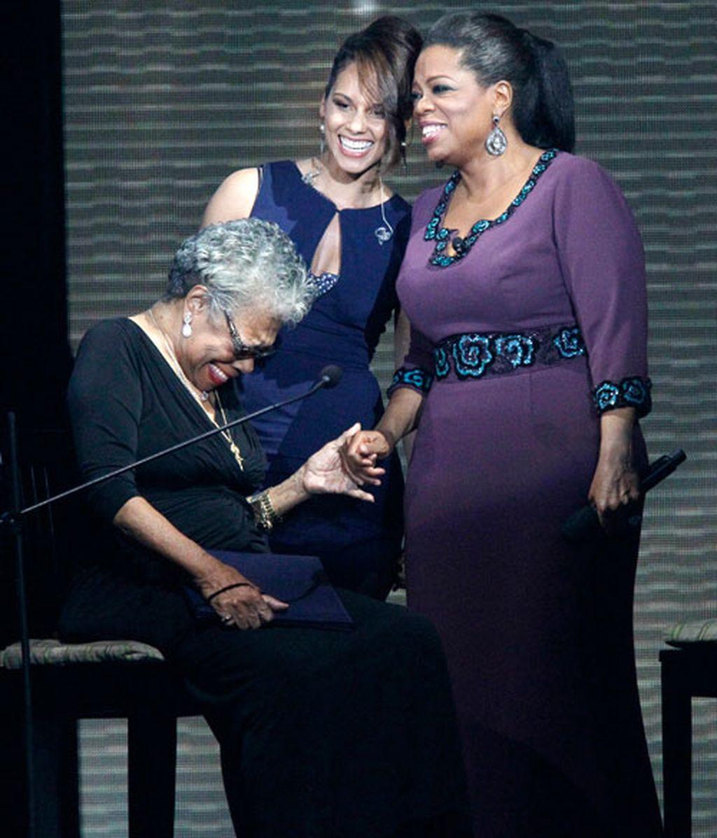 Famosos que homenajean a Oprah